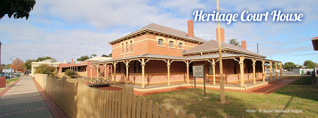 Wentworth Heritage Court House - Discover Murray River