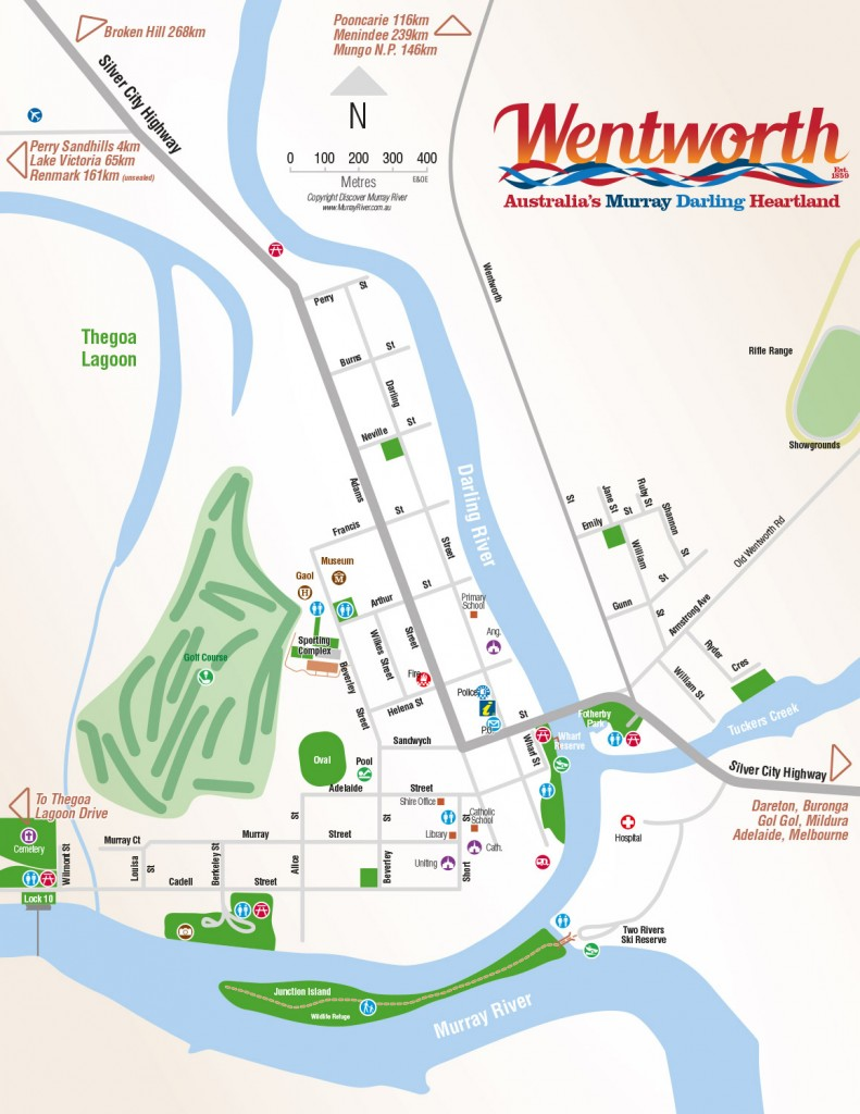 Wentworth Town Map