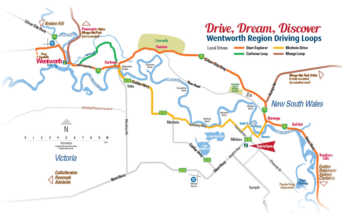 Drive Dream Discover Wentworth Region