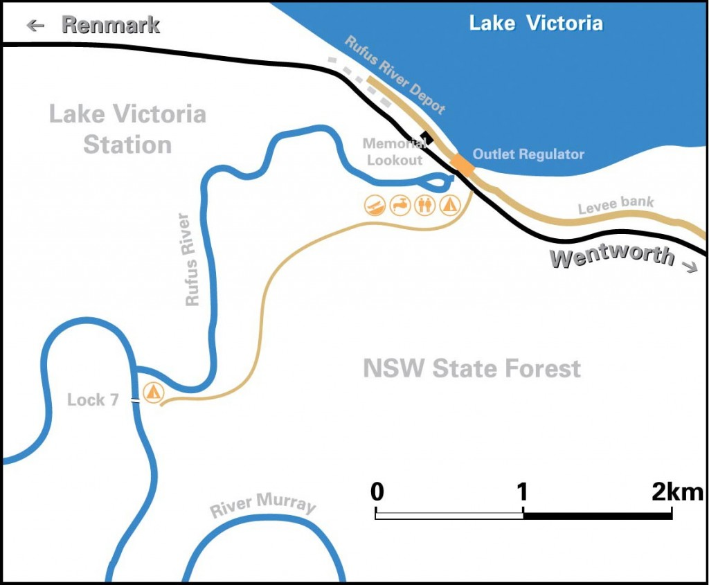 Lake Victoria Map - Discover Murray River