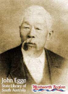 Captain John Egge - Wentworth Region