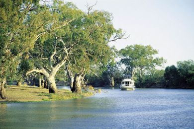 Pooncarie on the Darling River